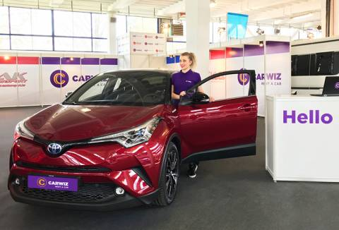 CARWIZ rent a car na ZAGREB AUTO SHOWU