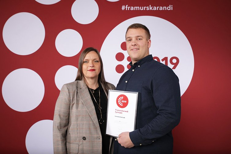 "CARWIZ rent a car - Icerental4x4 takes home ""The Strongest in Iceland"" award"