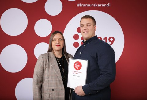 "Icerental4x4 takes home ""The Strongest in Iceland"" award"