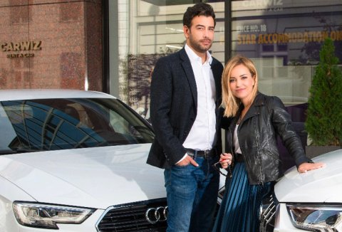 Janko Popović Volarić is the new face of CARWIZ rent a car