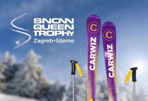 CARWIZ rent a car sponsors the ski sensation on Sljeme