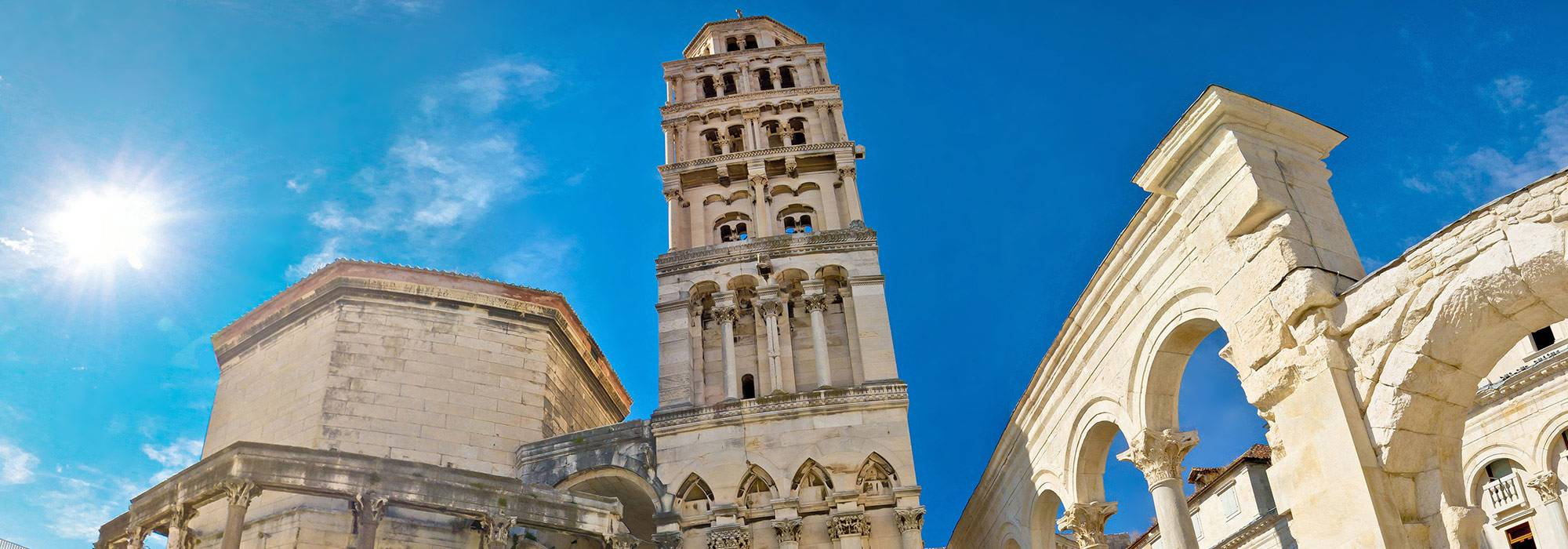 Diocletian's palace, palm trees and coffee – priceless